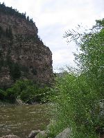 Colorado River,  Glenwood Canyon, CO.